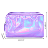 Holographic Iridescent Cosmetic Makeup Bag Accessories