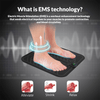 ANLAN EMS Massage Therapy Foot Mat Body Devices