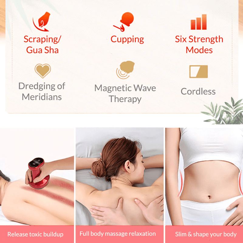 Electric Cupping & Gua Sha Massager Body Devices