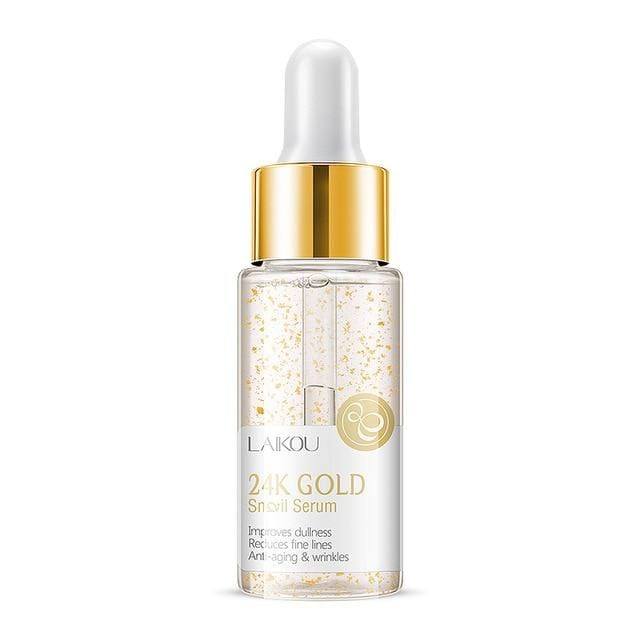 LAIKOU 24K Snail Repair Face Serum Cosmetics Default Title