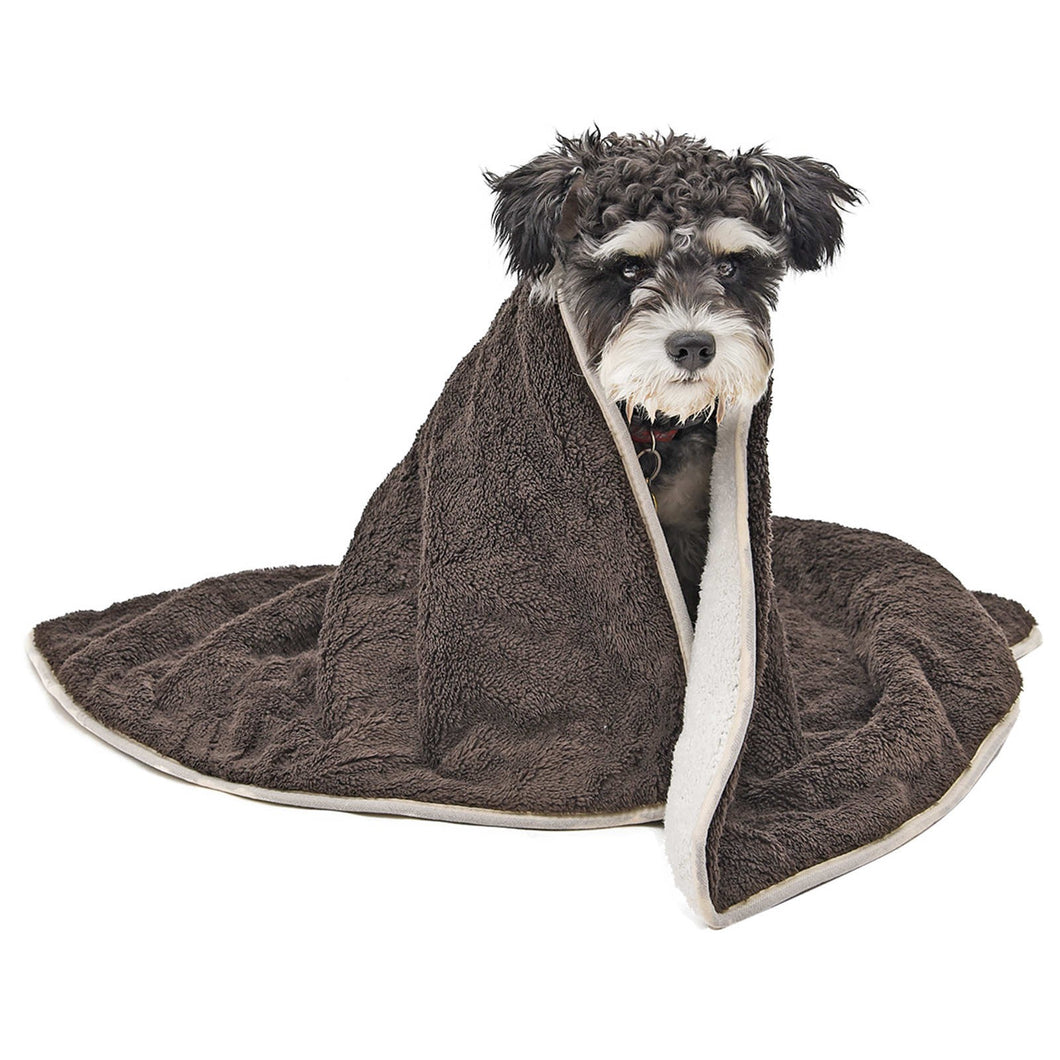Pet Dog Blanket Skin-friendly Warm Multifunction Pet Towel Bed Mat Warm Pet Sleeping Cushion Cover For Pet Dog Cat Product