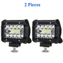 Load image into Gallery viewer, LYKAS 4 Inch LED Work Light Bars 60W Combo Beam for Offroad Motorcycle Boat Car Truck Tractor 4x4 ATV SUV 12V 24V 6000K