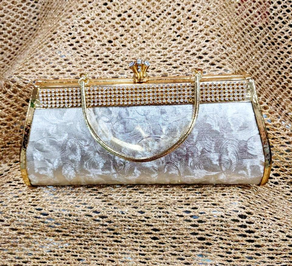 Silver and Gold Clutch