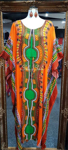 Dashiki long Rayon Kaftan