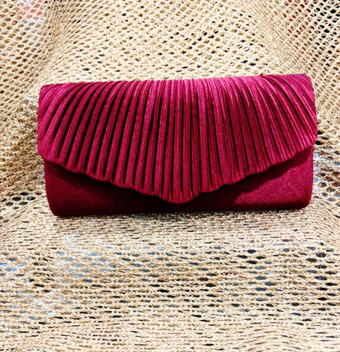 Royal Red Clutch