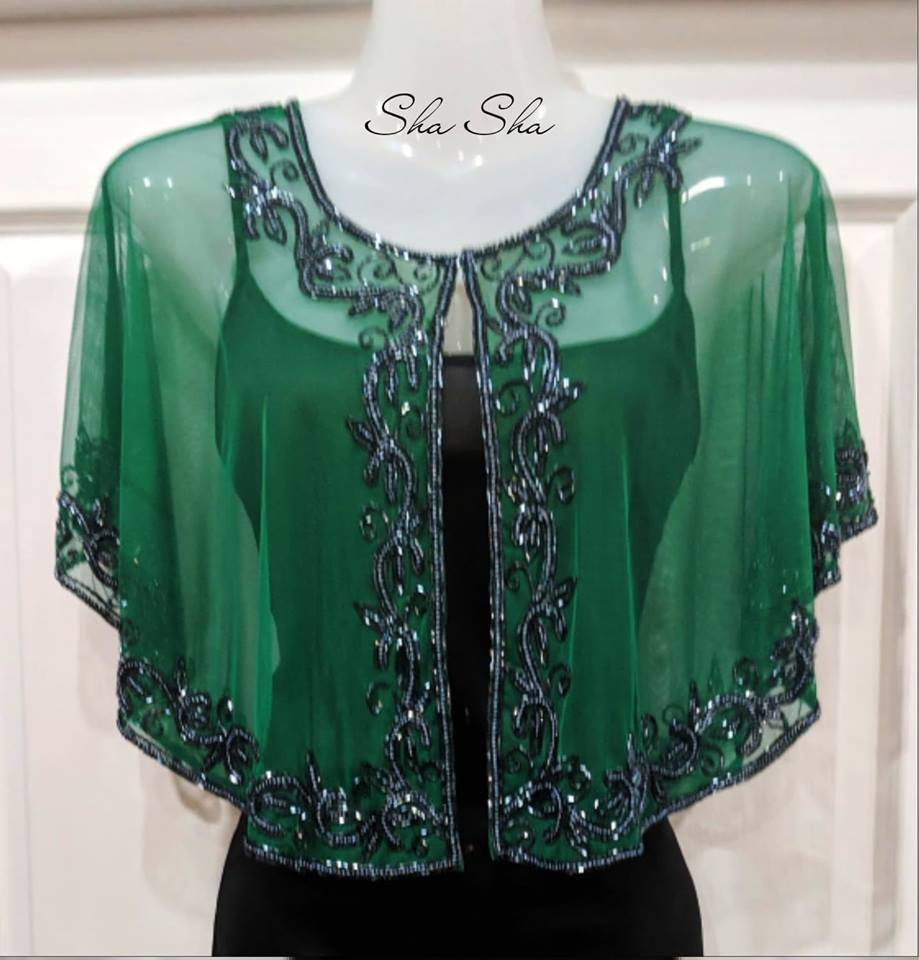 Luxury Hand Beaded Bolero