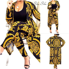 Load image into Gallery viewer, 2 Piece Set Cardigan & Leggings