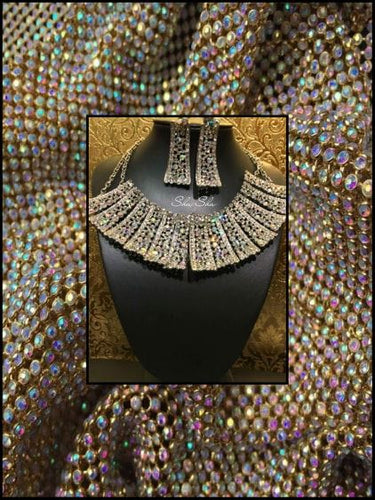 Luxury Statement Necklace & Earring Set