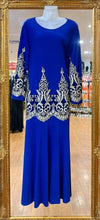 Load image into Gallery viewer, Embroidered Long Sleeve Dress