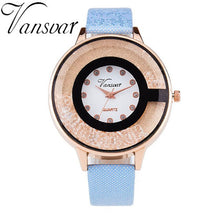 Load image into Gallery viewer, Rhinestone Quartz Watch 7 Colors Available