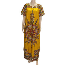Load image into Gallery viewer, African Print Dashiki Kaftan Dress