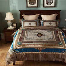 Load image into Gallery viewer, 100S Egyptian cotton Luxury Royal 4 piece Duvet cover set