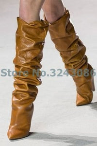 Bling High Heel Mid Calf Amazing Boots 11 Colors Available