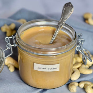 Homemade Roasted Cashew Butter by Alphafoodie