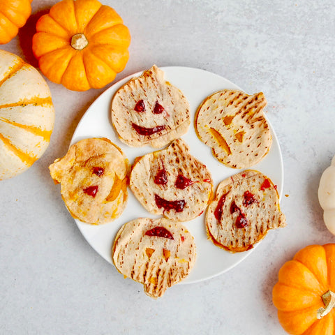 Pumpkin PB & Jelly Flatbread