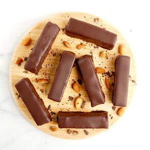 Homemade Paleo Vegan Twix Bars