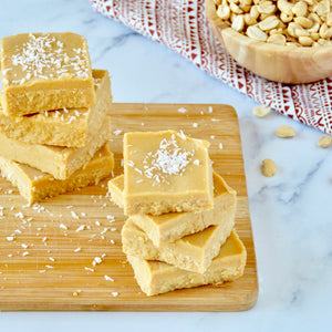 Easy Vegan Peanut Butter Fudge