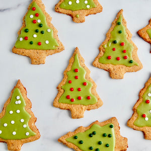Healthy Nut Butter Christmas Cookies