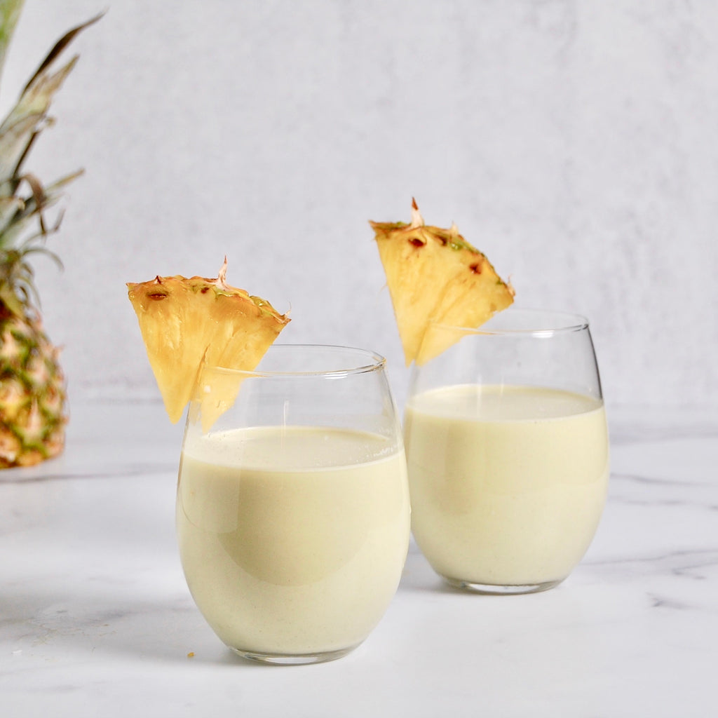 Pumpkin Seed & Coconut Pineapple Milk