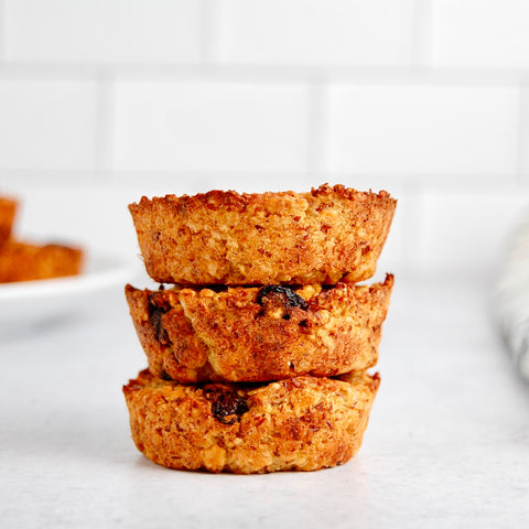 Quinoa, Apricot, and Oat Muffin Clusters