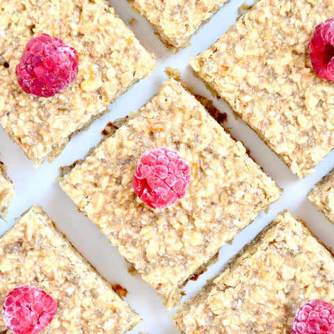 Healthy Oatmeal Peanut Butter Bars