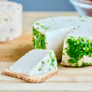 Sliceable Herbed Cashew Cheese