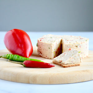 Vegan Pepperjack Cheese