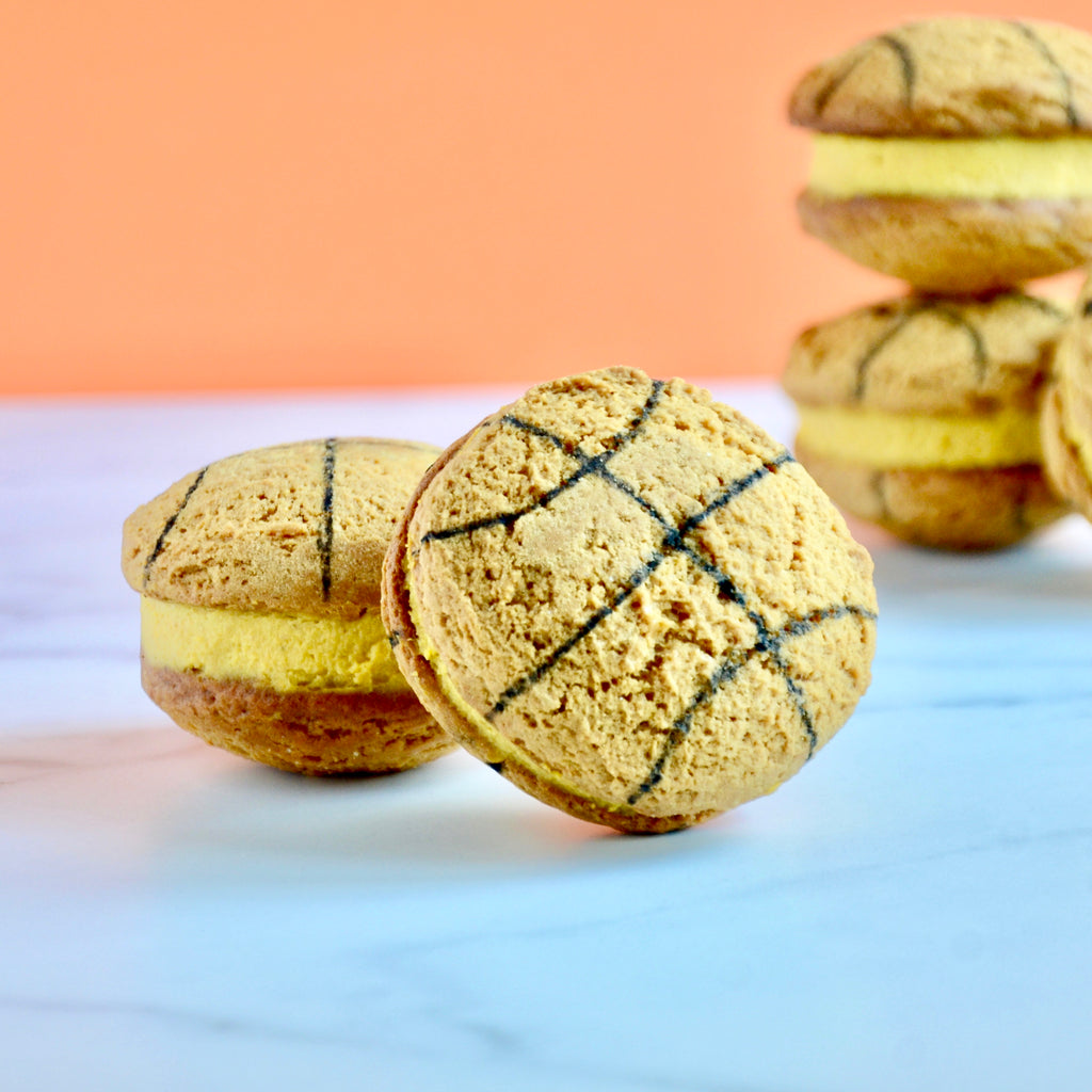 Basketball Cookie Sandwiches
