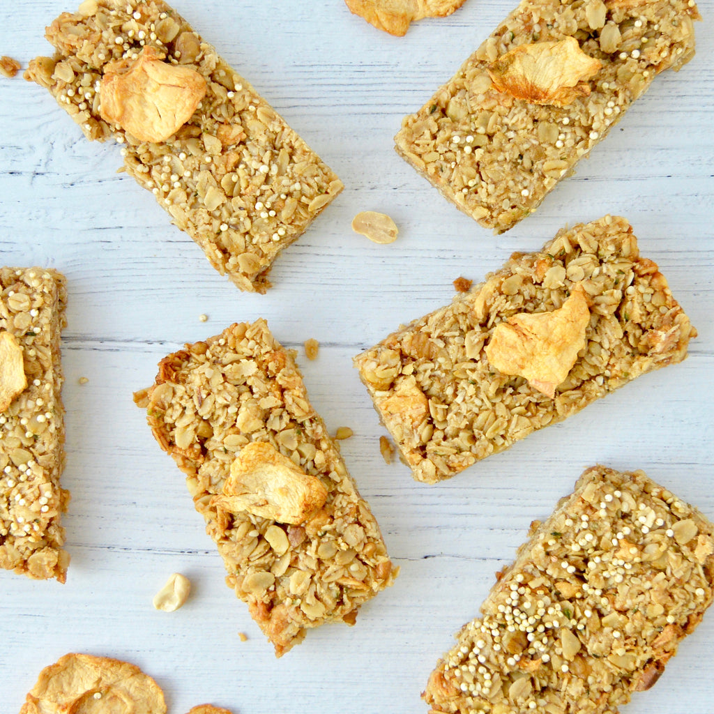 Apple Quinoa Granola Bars