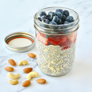 Almond Cashew Milk Chia Pudding