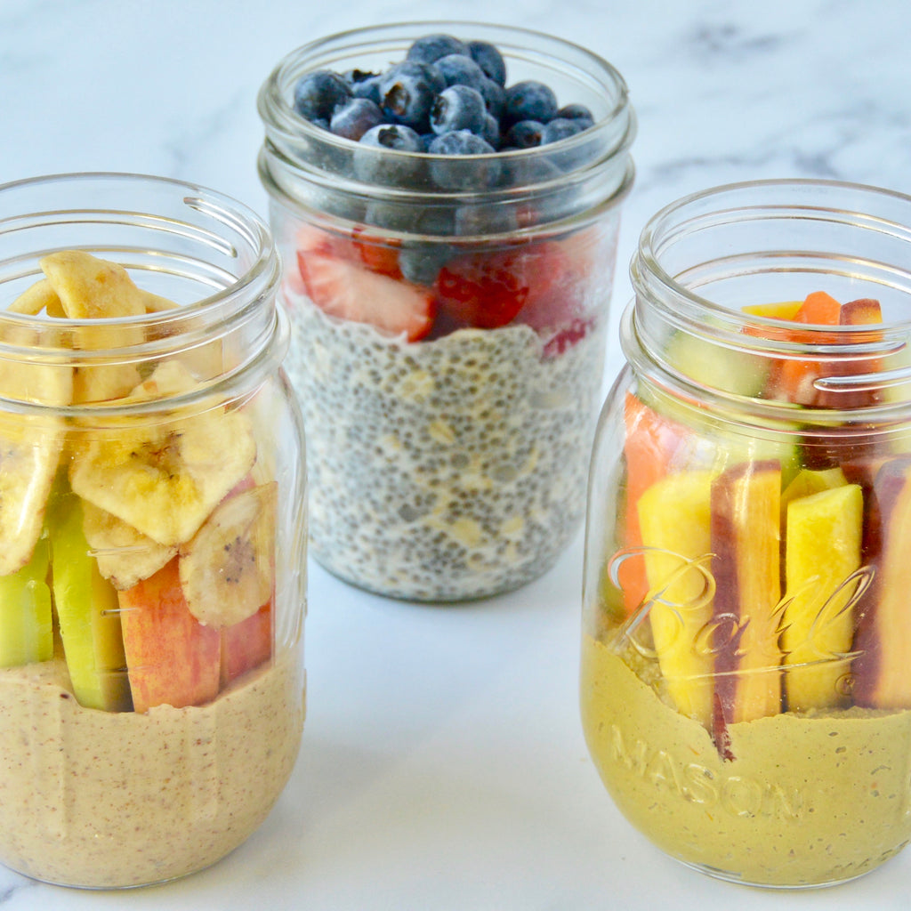 Mason Jar Travel Snacks