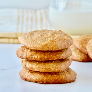 Macadamia Nut Butter Cookies