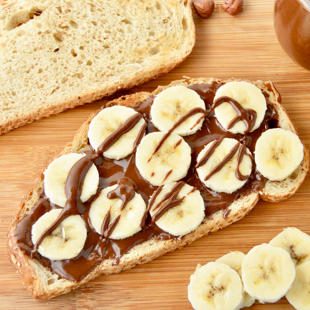 Grilled Banana & Nutella Sandwich