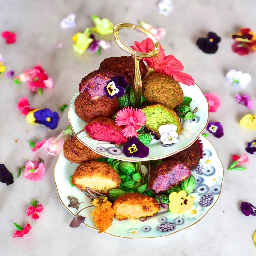 Rainbow Falafels by Alphafoodie Video