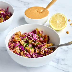 Spiced Peanut Sweet Potato Salad