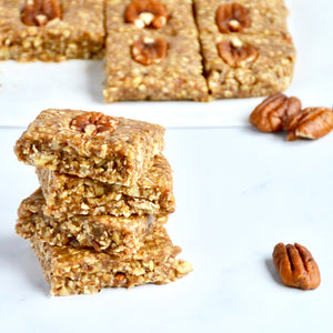 Pecan Butter Granola Bars