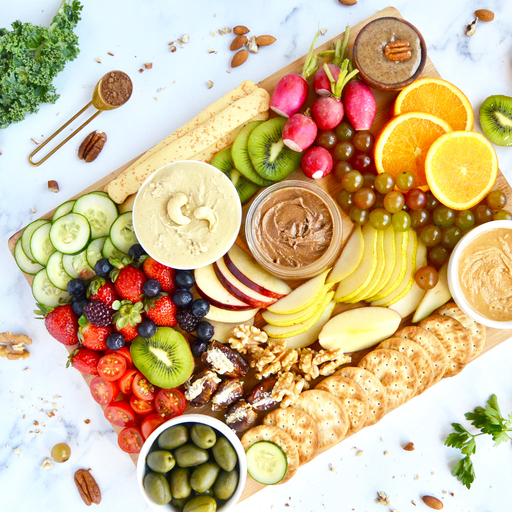 Fruit & Nut Butter Board