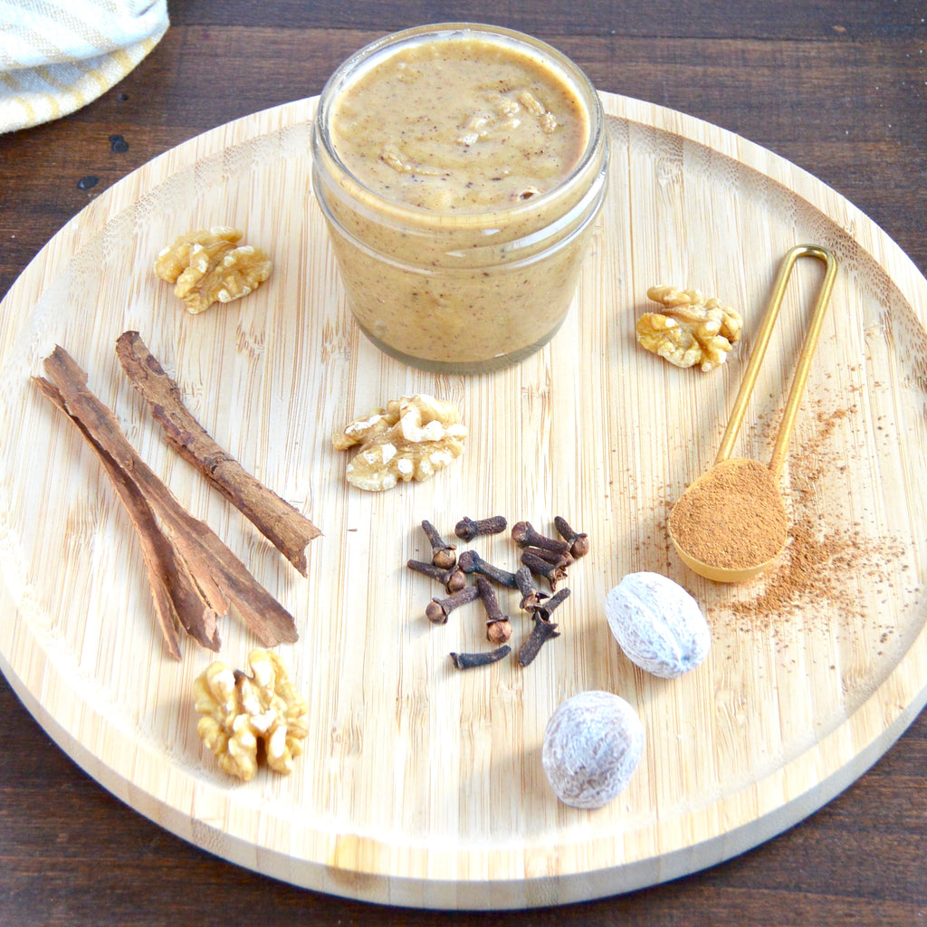 Walnut Butter with Apple Pie Spices