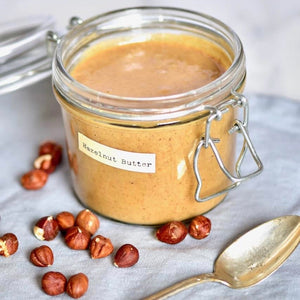 How to Make Homemade Roasted Hazelnut Butter by Alphafoodie