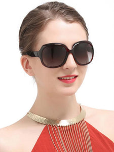 Popular Fashion Ultra-violet Ray Intercepting Big Structure Sunglasses BLACK
