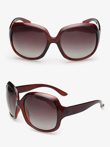 Popular Fashion Ultra-violet Ray Intercepting Big Structure Sunglasses TEA-RED