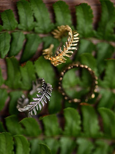 Vintage Pine Needle Rings Accessories GOLD1