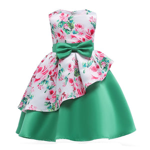 8a71cee63fa3b Elegant Girls Princess Dress for Party / Wedding for girls age 2-10 Years -  Green