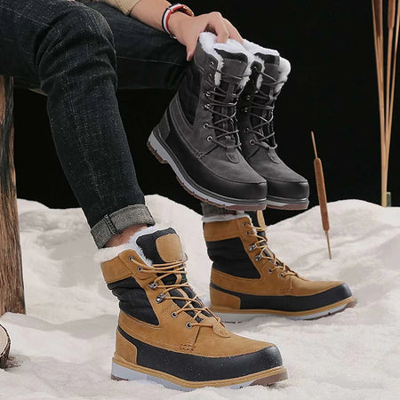 Winter Warm Ankle Snow Men Boots