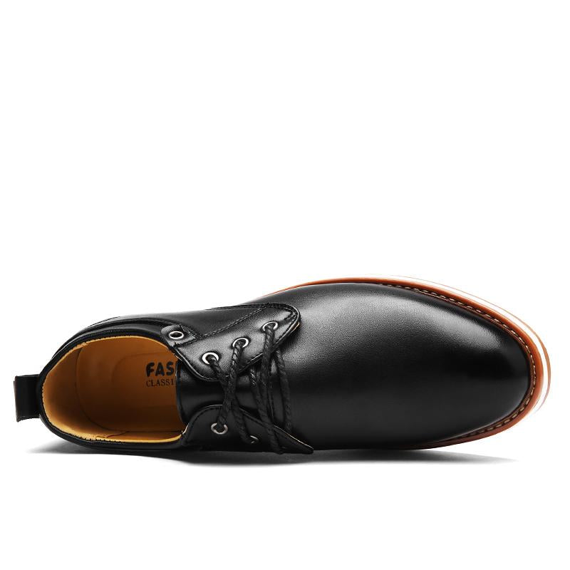 Men Casual Comfortable Lace-up Shoes