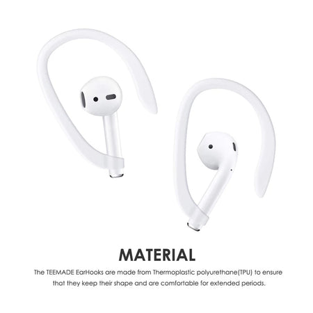 Airpods Earhooks Wireless Headsets Anti-lost Rope Silicone Earbuds 5-Piece Set