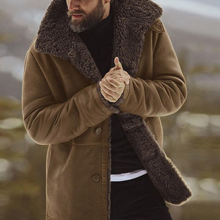 Winter Jackets Warm Casual Men's Coats