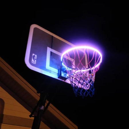 Basketball Hoop Sensor Activated LED Strip
