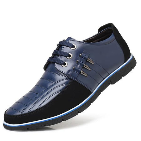 Men's Casual Business Stitching Color Shoes