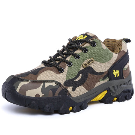 Camouflage Anti-skid Outdoor Hiking Sneakers